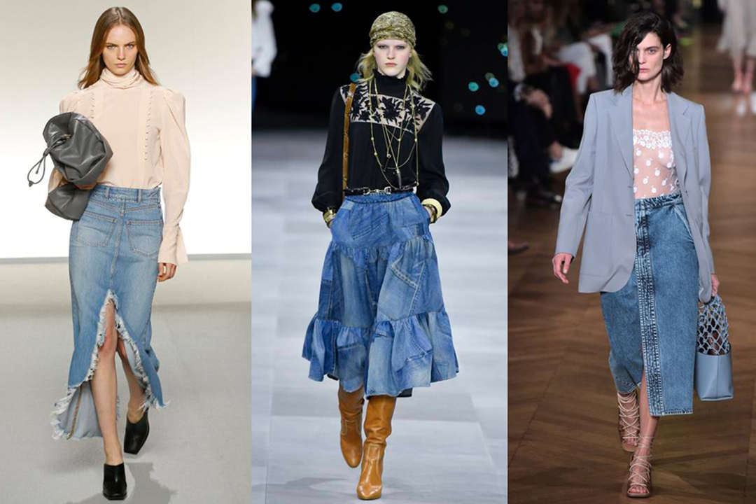 Reasons For The Popularity Of Denim Skirt As A Summer Wear
