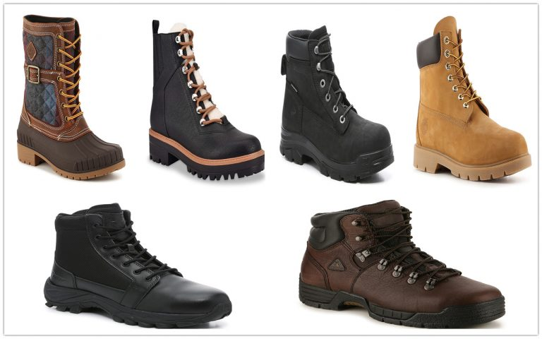 10 BOOTS TO KEEP YOU MOVING
