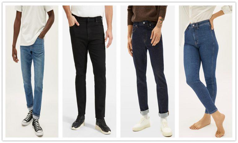 8 Denim fits for men and women